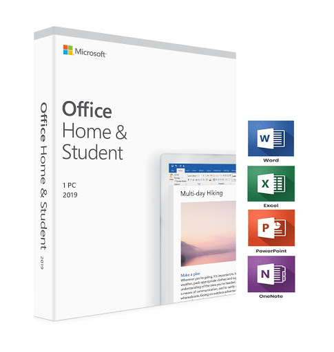 Licenta Retail Microsoft Office 2019 Home and Student English Medialess P6 - imaginea 1