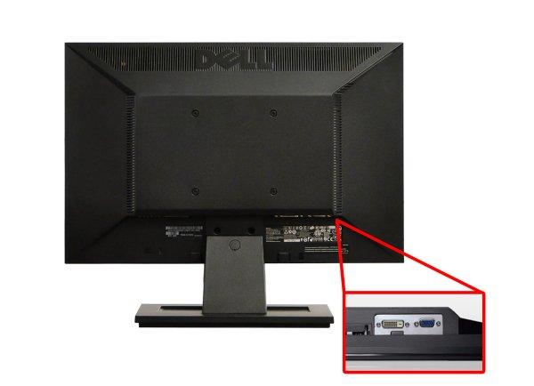 Monitor 19 inch LCD Wide DELL E1911, Black, 3 Ani Garantie - imaginea 2