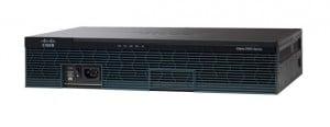 Router Refurbished Cisco 2921, CISCO2921-SEC/K9, 3 x 10/100/1000 Mbps, 4 x EHWIC Slots, 2 x USB 2.0 , 1 x Serial