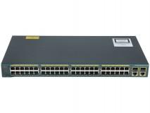 Switch Refurbished Cisco Catalyst 2960 Plus, WS-C2960+48TC-S, 48 x 10/100 Mbps , 2 x SFP Lan Lite - imaginea 2