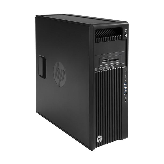Workstation HP Z440 Tower, Intel 4 Core Xeon E5-1620 v4 3.5 GHz, 16 GB DDR4, 250 GB SSD SATA, DVD-ROM, Nvidia Quadro M2000, 4 GB GDDR5, Windows 10 Pro; 3 Ani Garantie, Refurbished - imaginea 1