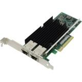 Placa de retea Intel X540-T2, 10 GB , Dual Port RJ45, PCIe