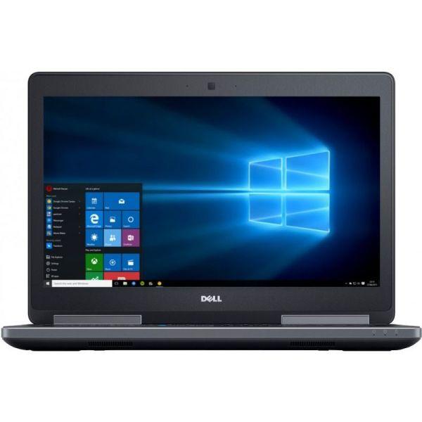 "Laptop Dell Precision 7510, Intel Xeon E3-1353M v5 2.9 GHz, Placa Video nVidia Quadro M2000M 4 GB GDDR5, Wi-Fi, 3G, Webcam, Display 15.6"" 1920 by 1080, 4 GB DDR4; 250 GB SSD SATA; Windows 10 Pro; 3 Ani Garantie, Refurbished - imaginea 2"