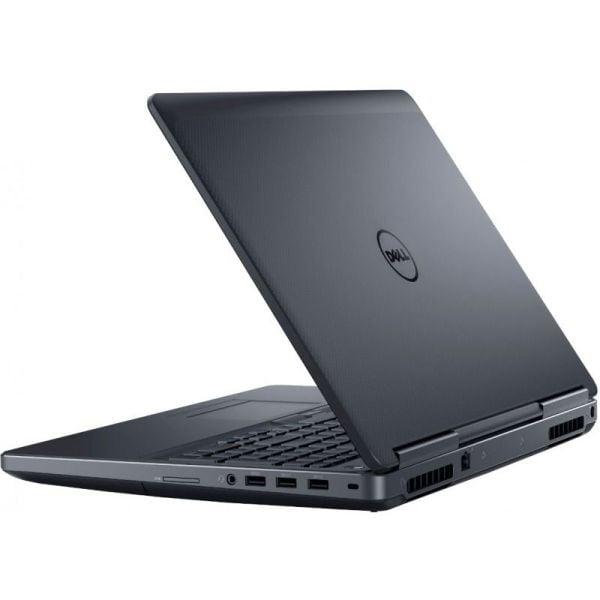 "Laptop Dell Precision 7510, Intel Xeon E3-1353M v5 2.9 GHz, Placa Video nVidia Quadro M2000M 4 GB GDDR5, Wi-Fi, 3G, Webcam, Display 15.6"" 1920 by 1080, 4 GB DDR4; 250 GB SSD SATA; Windows 10 Pro; 3 Ani Garantie, Refurbished - imaginea 5"