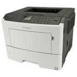 Imprimanta LaserJet Monocrom Lexmark MS610dn, A4, 16.000 pagini/luna, 1200 x 1200 DPI, Duplex, Network, USB, Pagini Printate 0-50k