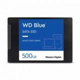 500 GB SSD , WD Blue, SATA III