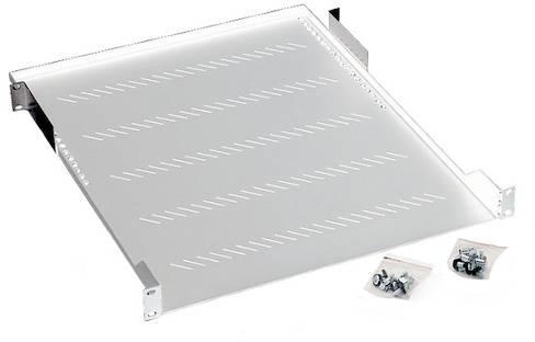 Raft fix perforat Cabinet Rack Server 1U/750 Max 40Kg, Gri - imaginea 1