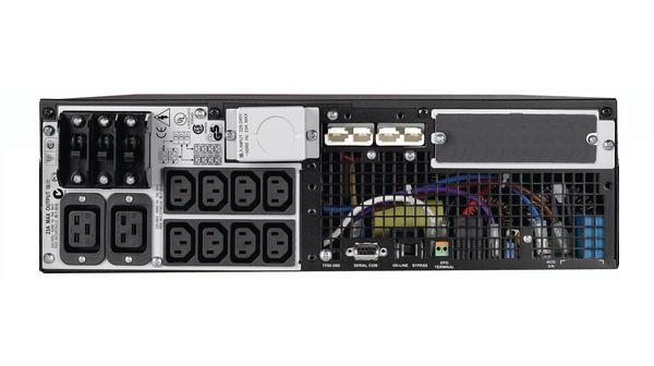 UPS APC SURT6000XLIM + Battery Pack Dell DLRT192RMXLBP3U Black, Rackabil 6U, Lipsa Acumulatori. 2 ANI GARANTIE - imaginea 2