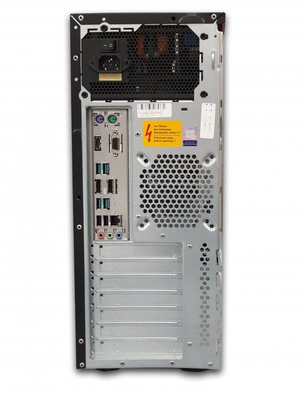 Calculator CTG, Intel Core i5 8600 3.1 GHz; 16 GB DDR4; 512 GB SSD M.2 NVMe; Windows 10 Pro; 3 Ani Garantie, Refurbished - imaginea 3