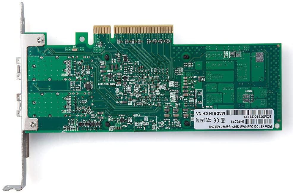Placa retea Dell Broadcom BCM57810S 10GB Dual Port SFP+, PCI-e 8x - imaginea 2