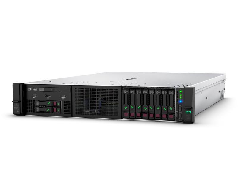 HPE ProLiant DL380 Gen10 4210 1P 32GB-R P408i-a NC 8SFF 500W PS Server - imaginea 1