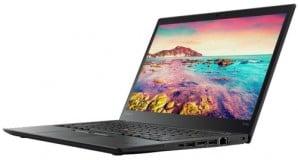 "Lenovo ThinkPad T470, Intel Core i5 6300U 2.4 GHz, Intel HD Graphics 520,  WI-FI, Bluetooth, WebCam, Display 14"" 1600 by 900 Grad B, 4 GB DDR4; 128 GB SSD M.2, Second Hand"