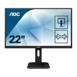 "Monitor 21.5"" AOC 22P1D, FHD 1920*1080, 60 Hz, WLED, TN, 16:9, 2 ms, 250cd/mp, 1000:1/ 50M:1, 170/16 - imaginea 2"