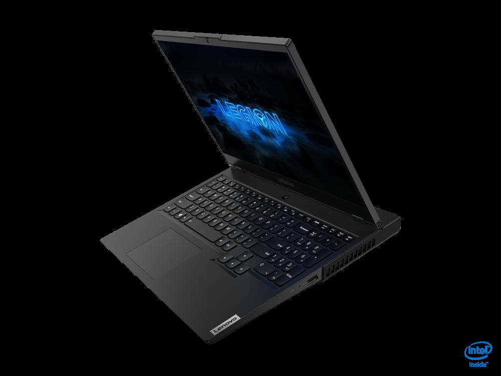 "Laptop Lenovo Gaming Legion 5 15IMH05, 15.6"" FHD (1920x1080) IPS 300nits Anti-glare, 60Hz, 100% sRGB, DC dimmer, Intel Core i5-10300H (4C / 8T, 2.5 / 4.5GHz, 8MB), video NVIDIA GeForce GTX 1650 Ti 4GB GDDR6, RAM 1x 8GB SO-DIMM DDR4-2933, SSD 512GB SSD M.2 2280 PCIe 3.0x4 NVMe + Empty M.2 2280 PCIe - imaginea 3"