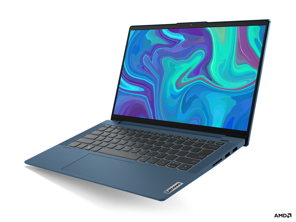 "Laptop Lenovo IdeaPad 5 14ARE05, 14"" FHD (1920x1080) IPS 300nits Anti- glare, 45% NTSC, AMD Ryzen 5 4600U (6C / 12T, 2.1 / 4.0GHz, 3MB L2 / 8MB L3), video Integrated AMD Radeon Graphics, RAM 16GB Soldered DDR4-3200, SSD 512GB SSD M.2 2280 PCIe 3.0x4 NVMe, no ODD, 4-in-1 Card Reader, Stereo speakers - imaginea 3"