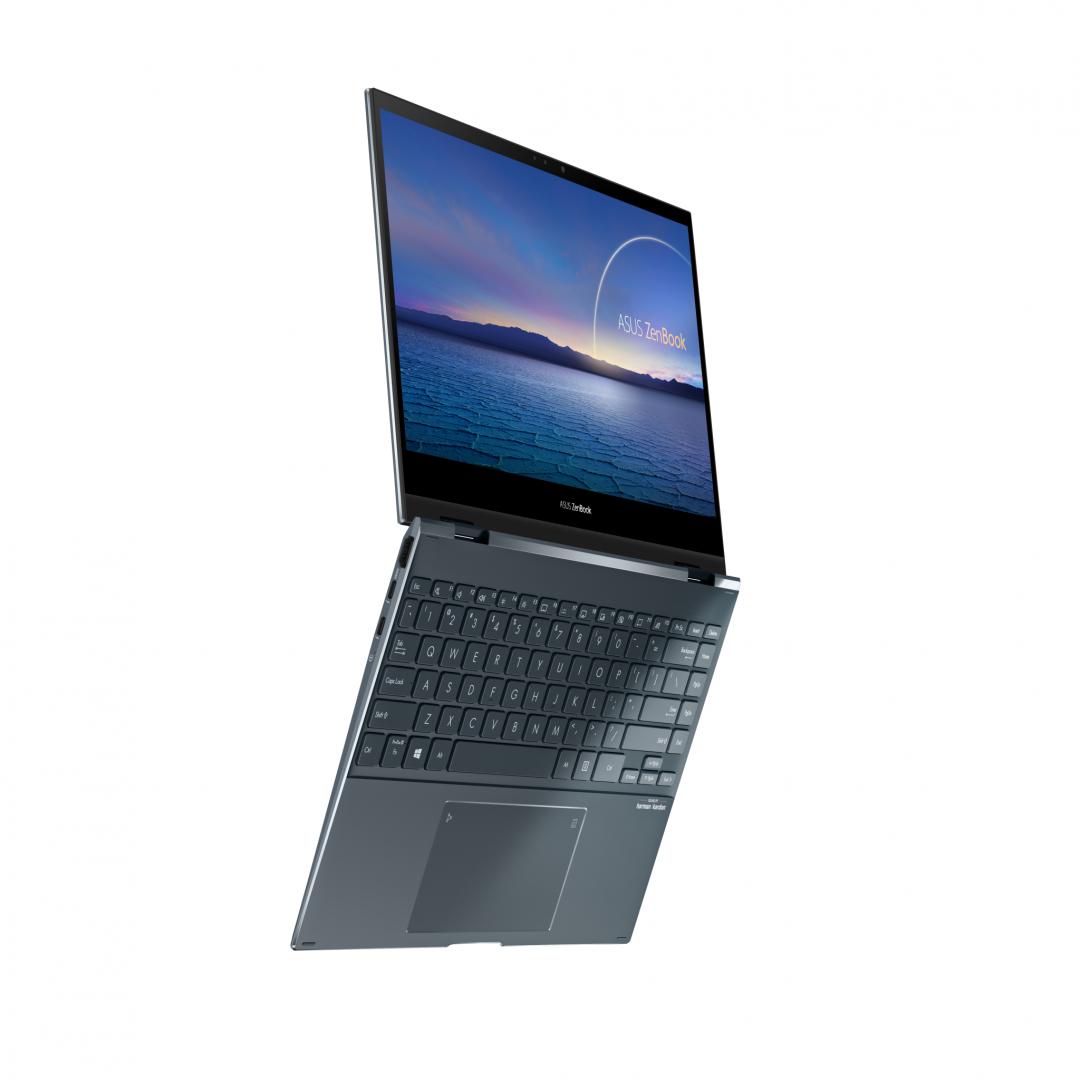 UltraBook ASUS ZenBook FLIP 13.3-inch, Touch screen, i7-1165G7  8 512 UMA W10P - imaginea 1