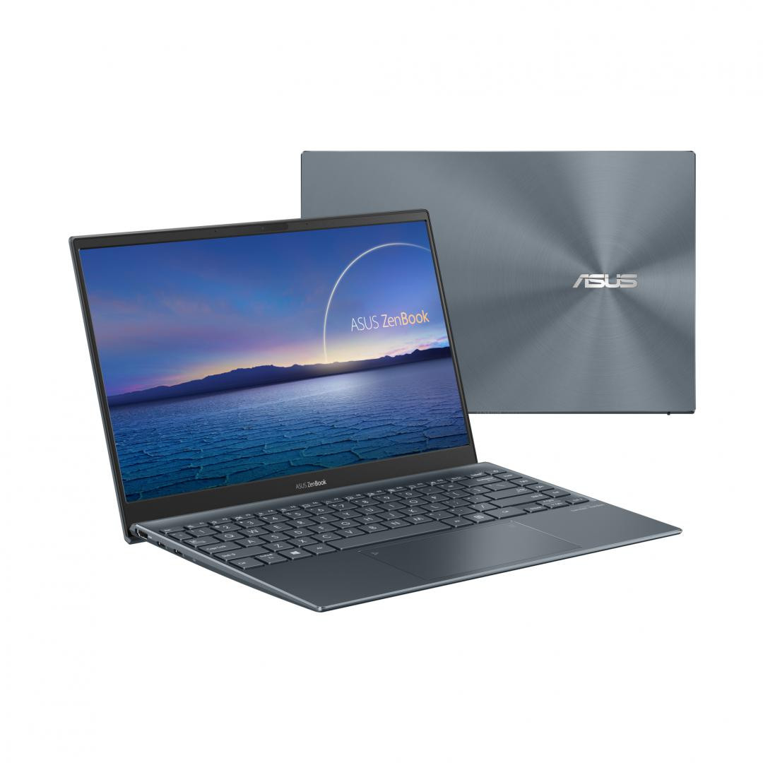 UltraBook ASUS ZenBook  UX325EA-KG257T, 13.3-inch, FHD (1920 x 1080) 16:9, OLED, Glossy display, Intel® Core™ i7-1165G7 Processor 2.8 GHz (12M Cache, up to 4.7 GHz, 4 cores), Intel Iris Xᵉ Graphics (available for 11th Gen Intel® Core™ i5/i7 with dual channel memory), 8GB LPDDR4X on board, 512GB M.2 - imaginea 4