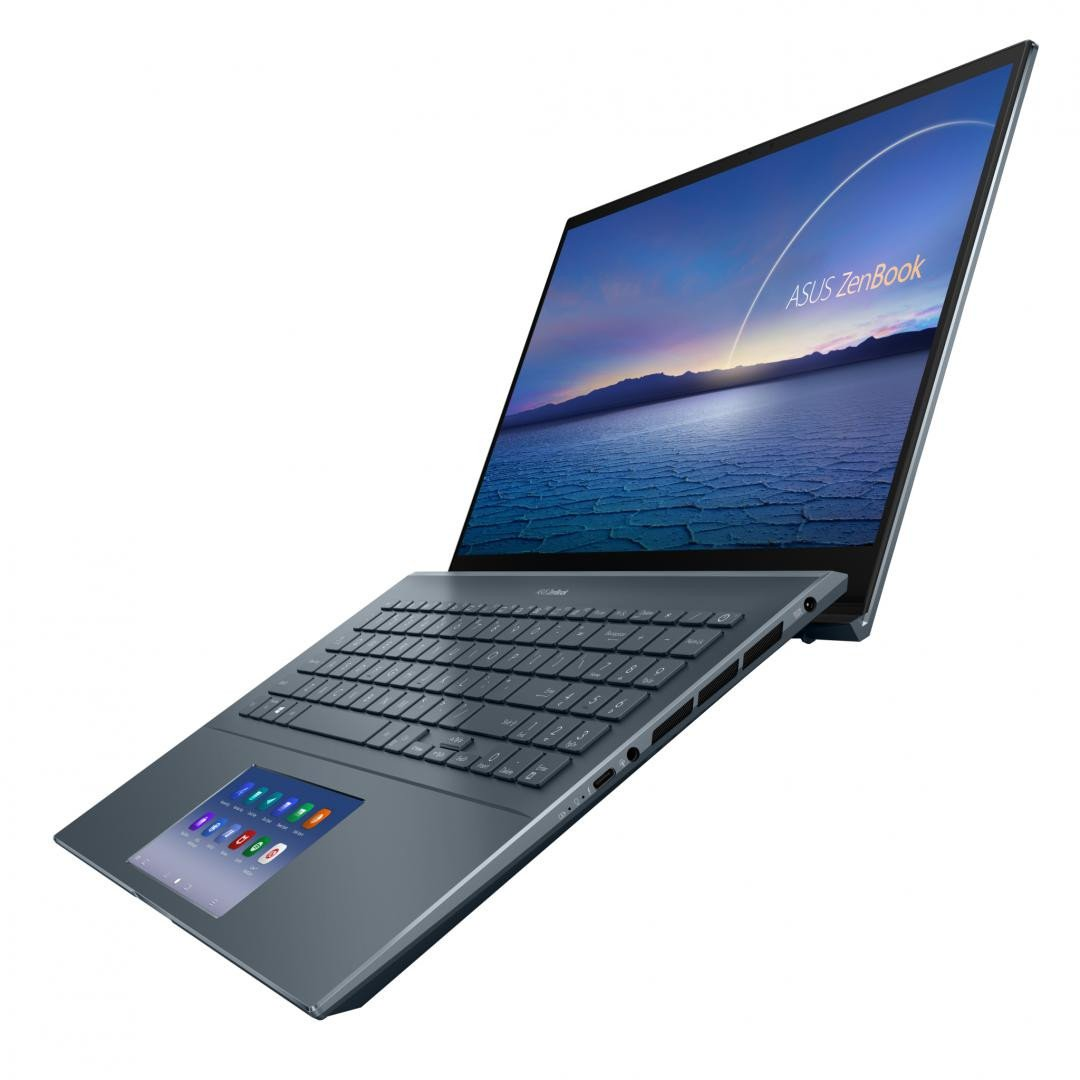 Ultrabook ASUS Zenbook 15 Touch UX535LI-H2172R, 15.6-inch, Touch screen, 4K UHD (3840 x 2160) 16:9, OLED, Glossy display, Intel® Core™ i7-10870H Processor 2.2 GHz (16M Cache, up to 5.0 GHz, 8 cores), NVIDIA® GeForce® GTX 1650 Ti, 16GB DDR4 on board, 1TB M.2 NVMe™ PCIe® 3.0 Performance SSD, Wi-Fi - imaginea 2