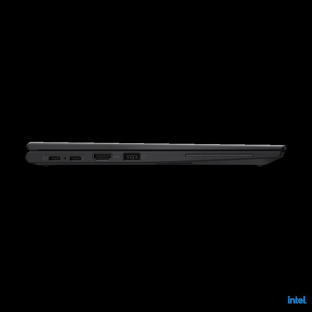 "Laptop Lenovo ThinkPad X13 Yoga Gen 2 (Intel), 13.3"" WQXGA (2560x1600) Low Power IPS 400nits AR (anti-reflection) / AS (anti-smudge), Touch, Lenovo Integrated Pen (Garaged), Intel Core i7-1165G7 (4C / 8T, 2.8 / 4.7GHz, 12MB), Video Integrated Intel Iris Xe Graphics, RAM 16GB Soldered LPDDR4x-4266 - imaginea 15"