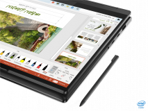 """Laptop Lenovo Yoga 7 14ITL5, 14"""" FHD (1920x1080) IPS 300nits Glossy, 72% NTSC, AGC Dragontrail glass, 10-point Multi-touch, Intel Core i7-1165G7 (4C / 8T, 2.8 / 4.7GHz, 12MB), video Integrated Intel Iris Xe Graphics, RAM 16GB Soldered DDR4-3200, SSD 1TB SSD M.2 2280 PCIe 3.0x4 NVMe, no ODD, No Card - imaginea 5"""