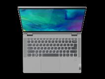"Laptop Lenovo IdeaPad Flex 514ALC05, 14"" FHD (1920x1080) IPS 250nits Glossy, 45% NTSC, AMD Ryzen 3 5300U (4C / 8T, 2.6 / 3.8GHz, 2MB L2 / 4MB L3), video AMD Radeon Graphics, RAM 8GB Soldered DDR4-3200, SSD 256GB SSD M.2 2242 PCIe 3.0x4 NVMe, no ODD, 4-in-1 Card Reader, Stereo speakers, 2W x2, Dolby - imaginea 10"
