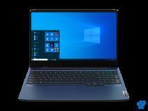 "Laptop Lenovo IdeaPad Gaming 3 15IMH05, 15.6"" FHD (1920x1080) IPS 250nits Anti-glare, 60Hz, Intel Core i5-10300H (4C / 8T, 2.5 / 4.5GHz, 8MB), video NVIDIA GeForce GTX 1650 4GB GDDR6, RAM 2x 8GB SO-DIMM DDR4- 2933, SSD 512GB SSD M.2 2280 PCIe 3.0x4 NVMe, no ODD, No Card reader, Stereo speakers, 1.5W - imaginea 1"