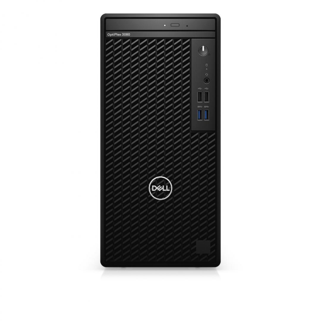 Desktop Dell OptiPlex 3080 MT, i5-10505, 8GB, 256GB SSD, Ubuntu - imaginea 1