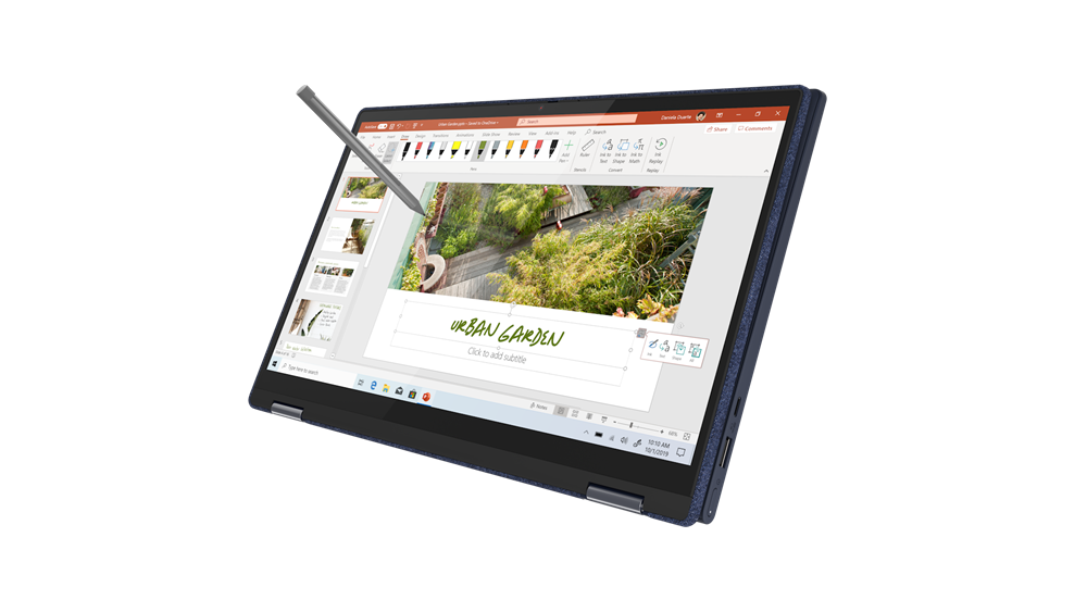 """Laptop Lenovo Yoga 6 13ARE05, 13.3"""" FHD (1920x1080) IPS 300nits Glossy, 72% NTSC, 10-point Multi-touch, AMD Ryzen 5 4500U (6C / 6T, 2.3 / 4.0GHz, 3MB L2 / 8MB L3), video Integrated AMD Radeon Graphics, RAM 16GB Soldered DDR4-3200, SSD 1TB SSD M.2 2280 PCIe 3.0x4 NVMe, no ODD, No Card reader, Stereo - imaginea 1"""