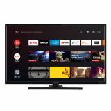 LED TV HORIZON FHD-ANDROID 32HL7390F/B, 32 D-LED, Full HD (1080p), HDR10 / HLG, Digital TV-Tuner DVB-S2/T2/C, CME 200Hz, Android TV 9.0 (Chromecast built-in) +GoogleAssistant +BT4.0, 1xLAN (RJ45), DLNA 1.5, Contrast 5000:1, 300 cd/m2, 1xCI+, 3xHDMI, 2xUSB, VESA 75 x 75 mm M4, Middle Stand, Very - imaginea 1