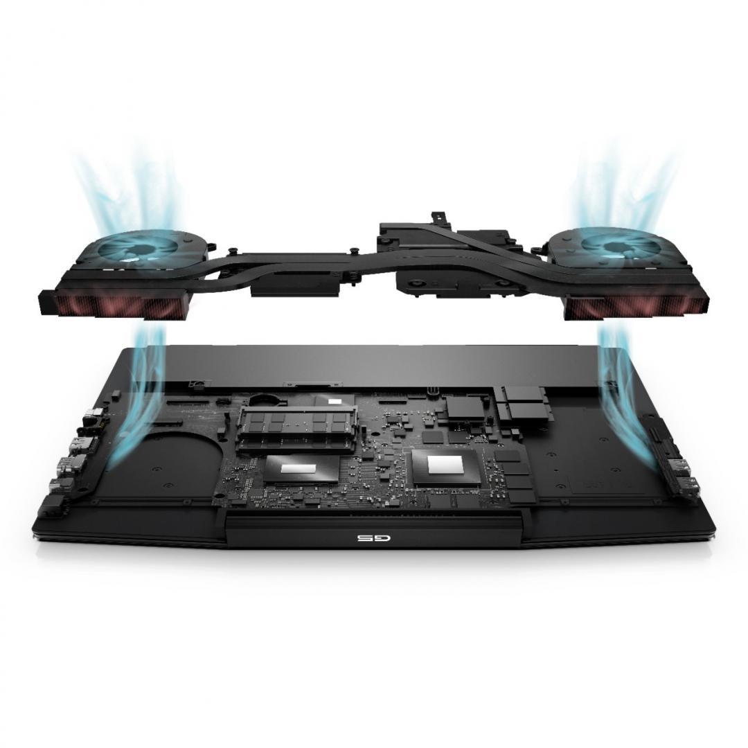 "Laptop Dell Inspiron Gaming 5500 G5, 15.6"" FHD, i7-10750H, 16GB, 1TB SSD, GeForce RTX 2070, Ubuntu - imaginea 5"