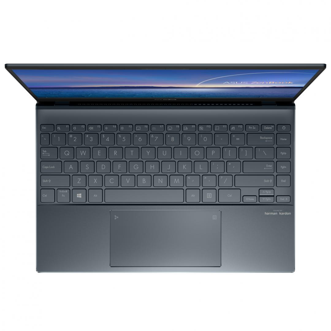 UltraBook ASUS ZenBook  UX325EA-KG257T, 13.3-inch, FHD (1920 x 1080) 16:9, OLED, Glossy display, Intel® Core™ i7-1165G7 Processor 2.8 GHz (12M Cache, up to 4.7 GHz, 4 cores), Intel Iris Xᵉ Graphics (available for 11th Gen Intel® Core™ i5/i7 with dual channel memory), 8GB LPDDR4X on board, 512GB M.2 - imaginea 3