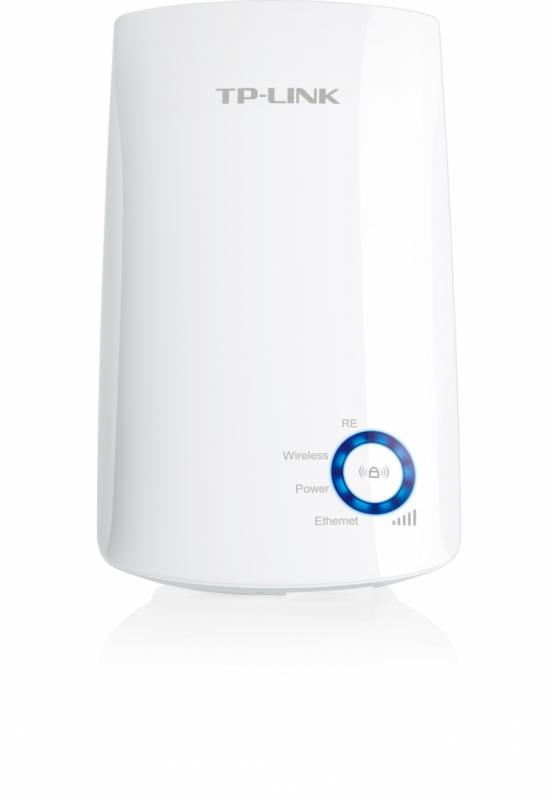 Wireless Range Extender TP-link, N300, Wall Plugged, 2.4GHz, 2 antene interne, 1 port LAN/WAN, Range extender button / Range extender mode, Atheros, 2T2R - imaginea 1