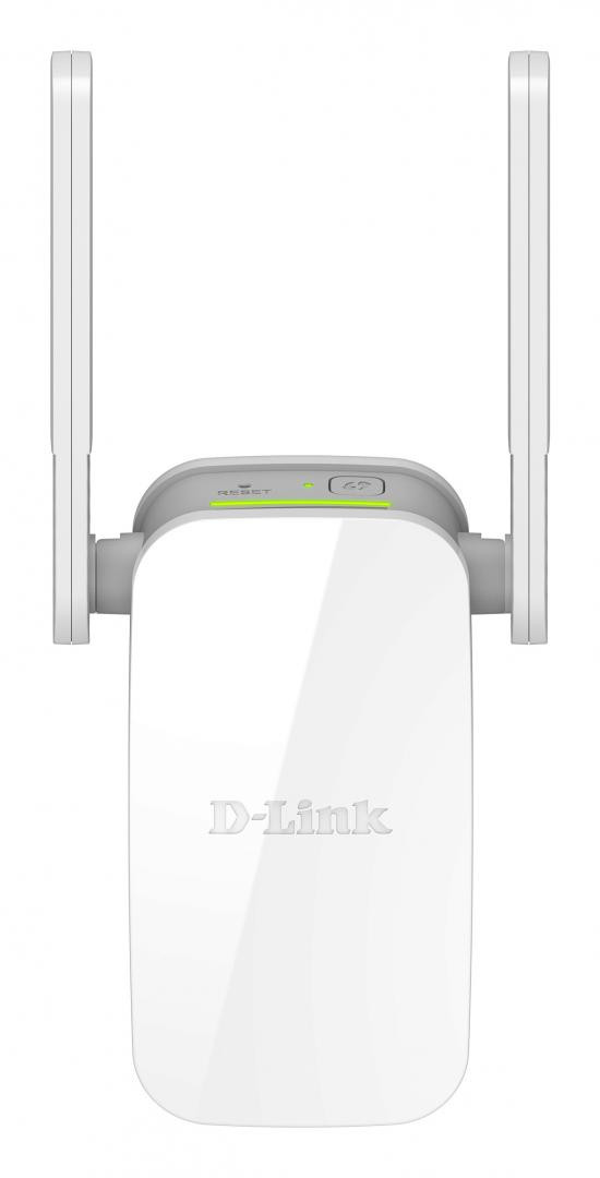 D-link Wireless AC1200 Dual Band Range Extender DAP-1610, with FE port; Compact Wall Plug design; External antenna design; 2x2 11ac Technology, Up to 1200 Mbps data rate; Complying with the IEEE 802.11 ac draft, a, n, g, and b; WPS (WiFi Protected Setup); WPA2/WPA wireless encryption; D-Link - imaginea 1