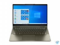 """Laptop Lenovo Yoga 7 14ITL5, 14"""" FHD (1920x1080) IPS 300nits Glossy, 72% NTSC, AGC Dragontrail glass, 10-point Multi-touch, Intel Core i5-1135G7 (4C / 8T, 2.4 / 4.2GHz, 8MB), video Integrated Intel Iris Xe Graphics, RAM 16GB Soldered DDR4-3200, SSD 1TB SSD M.2 2280 PCIe 3.0x4 NVMe, no ODD, No Card - imaginea 6"""