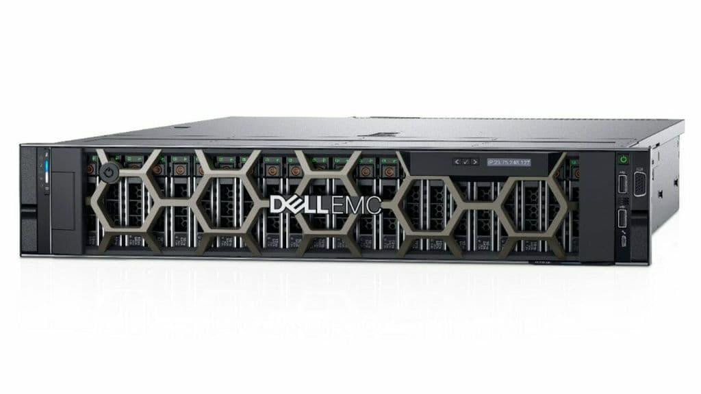"""PowerEdge R7515 Server AMD 7262 3.20GHz,8C/16T,128M,155W,3200; 32GB RDIMM, 3200MT/s, Dual Rank; 2 x 240GB SSD SATA Mixed Use 6Gbps 512e 2.5in Hot plug, 3.5in HYB CARR S4610 Drive; 3.5"""" Chassis with up to 8 Hot Plug Hard Drives; PERC H740P RAID Controller, 8GB NV Cache, Mini card; C13 to C14, PDU - imaginea 1"""