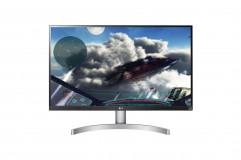 "Monitor 27"" LG 27UL600-W, 4K UHD 3840*2160, IPS, 16:9, 5 ms, 350 cd/m2, 1000:1, 178/178, anti-glare 3H, HDR 10, DisplayHDR™ 400, Flicker safe, RADEON FreeSync, 2*HDMI, DP, 60 Hz, headphone out, VESA 100*100, cabluri HDMI/ DP incluse, culoare alb+picior argintiu - imaginea 3"