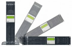 UPS Legrand Daker DK Plus, 1000VA/ 900W tip online cu dubla conversie, forma Rack/Tower, 0.9 capacitate putere, port comunicare-RS-232/USB, 6 x IEC socket, baterie: 3 x 12 V / 7.2 Ah, frecventa baterie (Hz): 50/60 Hz ± 0.1, 230V, dimensiuni (W x D x H mm): 440 x 405 x 88, culoare negru - imaginea 2