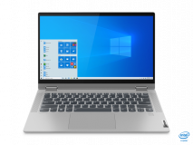 "Laptop Lenovo IdeaPad Flex 514ITL05, 14"" FHD (1920x1080) IPS 250nits Glossy, 45% NTSC, Intel Core i7-1165G7 (4C / 8T, 2.8 / 4.7GHz, 12MB), video Integrated Intel Iris Xe Graphics, RAM 16GB Soldered DDR4-3200, SSD 512GB SSD M.2 2280 PCIe 3.0x4 NVMe, no ODD, 4-in-1 Card Reader, Stereo speakers, 2W x2 - imaginea 19"
