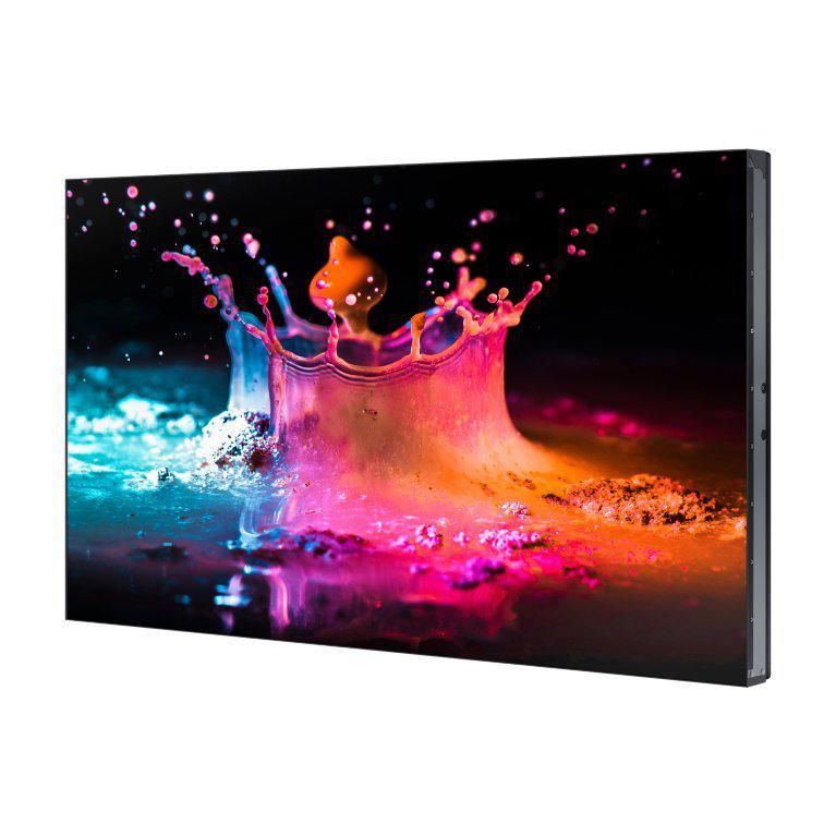 "Ecran Videowall LFD Monitor Samsung UD55E, 55"" (140cm), FHD, Bezel 3.5mm (2.3+1.2), Luminozitate 500nit, Timp Raspuns 8ms, Contrast 4000:1, Haze 44%, [...]; Conectivitate: INPUT: 1xD-SUB, 1xDVI, 1xDP1.2, 2xHDMI, HDCP2.2, 1xUSB pt F/W Upgrade, 1xLAN, 1xRS232C, 1xIR, Audio In Stereo Mini Jack; OUTPUT - imaginea 1"