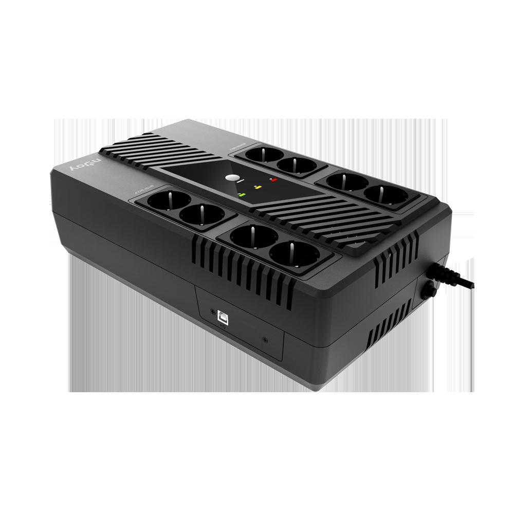 UPS nJoy Token 600 VA / 360 W  Capacity 600 VA / 360 W - imaginea 1
