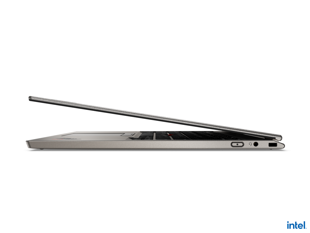 "Laptop Lenovo ThinkPad X1 Titanium Yoga Gen 1, 13.5"" QHD (2256x1504) IPS 450nits AR (anti-reflection) / AS (anti-smudge), Touch, Intel Core i7- 1160G7 (4C / 8T, 2.1 / 4.4GHz, 12MB), Video Integrated Intel Iris Xe Graphics, RAM 16GB Soldered LPDDR4x-4266, POP Memory, SSD 1TB SSD M.2 2242 PCIe 3.0x4 - imaginea 9"