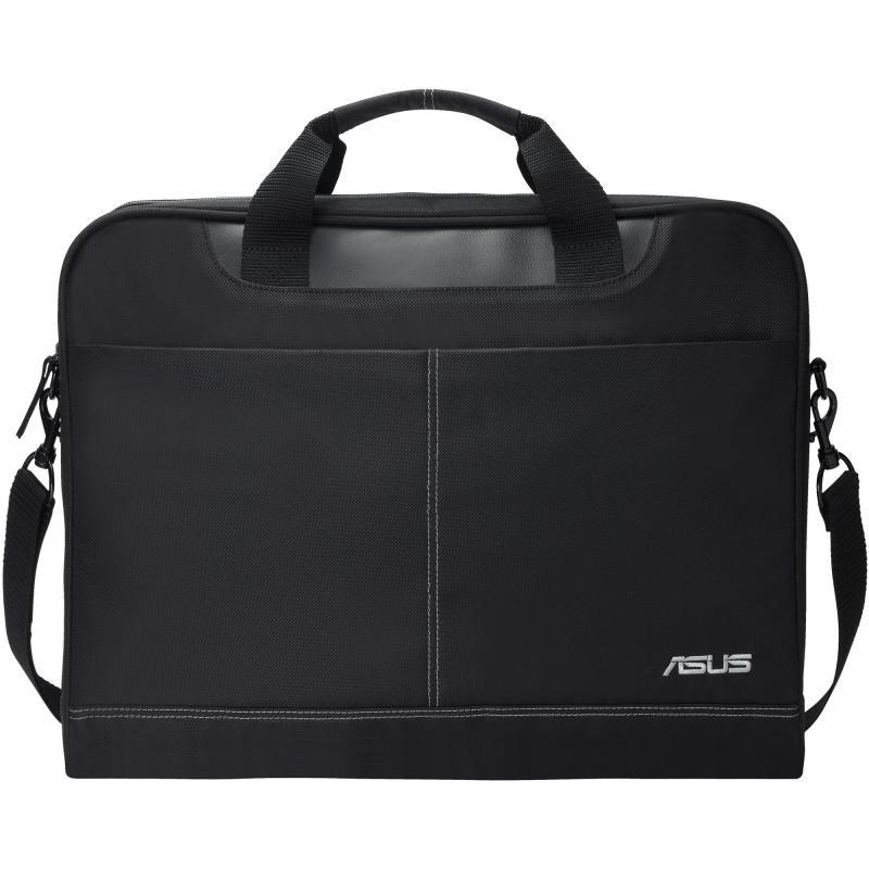 Geanta Notebook ASUS Nereus, 15.6 neagra, poliester, Dimensions: geanta: 425*80 *325mm, Weight: 530g - imaginea 1