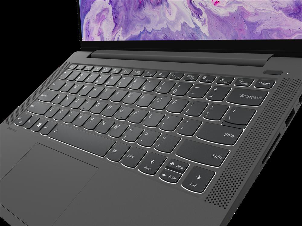 "Laptop Lenovo IdeaPad 5 14ALC05, 14"" FHD (1920x1080) IPS 300nits Anti- glare, 45% NTSC, AMD Ryzen 3 5300U (4C / 8T, 2.6 / 3.8GHz, 2MB L2 / 4MB L3), video AMD Radeon Graphics, RAM 8GB Soldered DDR4-3200, SSD 512GB SSD M.2 2242 PCIe 3.0x4 NVMe, no ODD, 4-in-1 Card Reader, Stereo speakers, 2W x2, Dolby - imaginea 7"