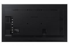 "Ecran profesional LFD Monitor Signage Samsung QM85N, 85"" (216cm), UHD, Operare 24/7, Luminozitate 500nit, Timp Raspuns 6ms, Contrast 5000:1, Haze 44%, Tizen 4.0, MagicINFO S6, [...]; Conectivitate: INPUT: 1xD-SUB, 1xDVI, 1xDP1.1, 2xDP1.2, 3xHDMI 1.4, HDCP1.4, 1xUSB pt F/W Upgrade, 1xLAN, 1xRS232C - imaginea 2"