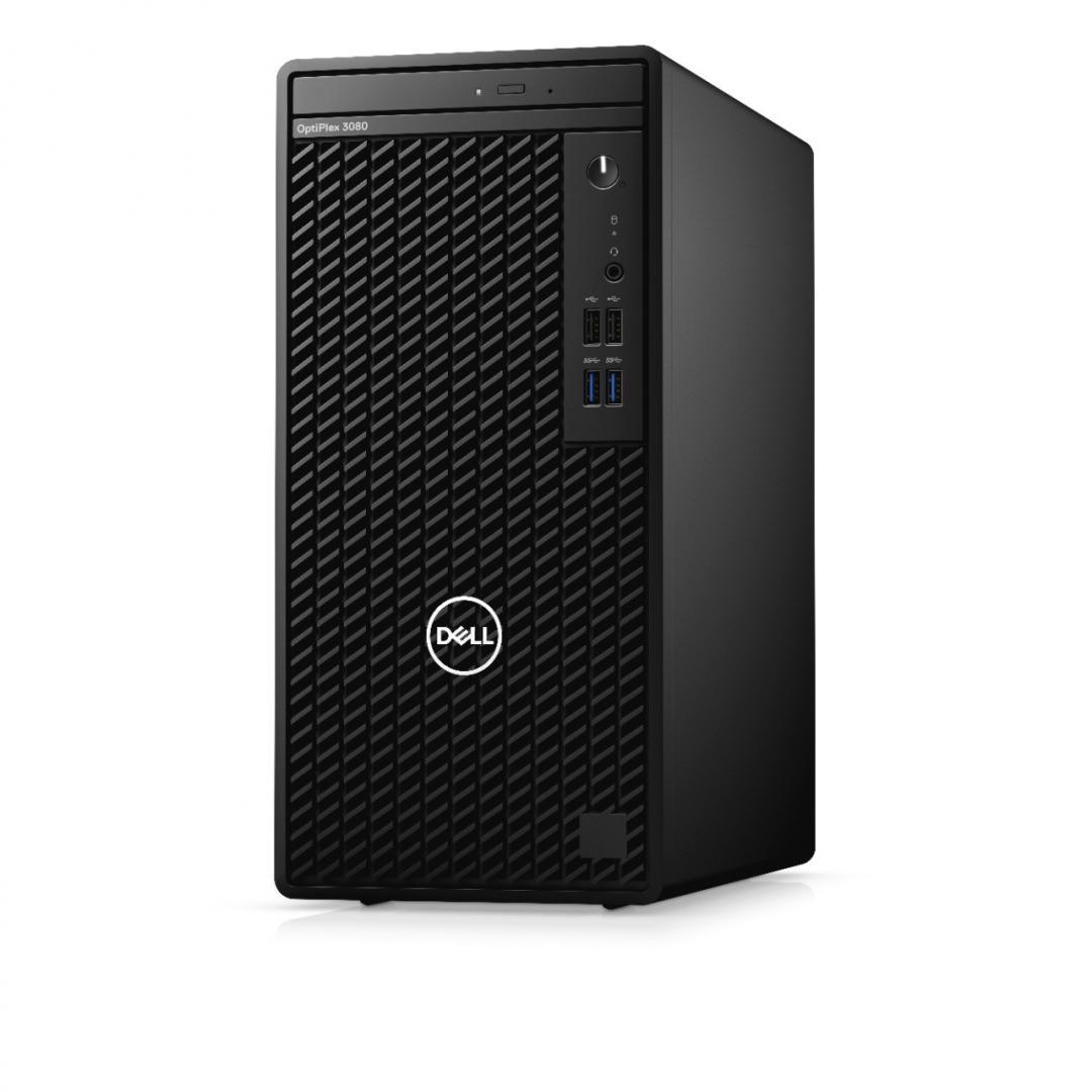 Desktop Dell OptiPlex 3080 MT, i5-10505, 8GB, 256GB SSD, W10 Pro - imaginea 2