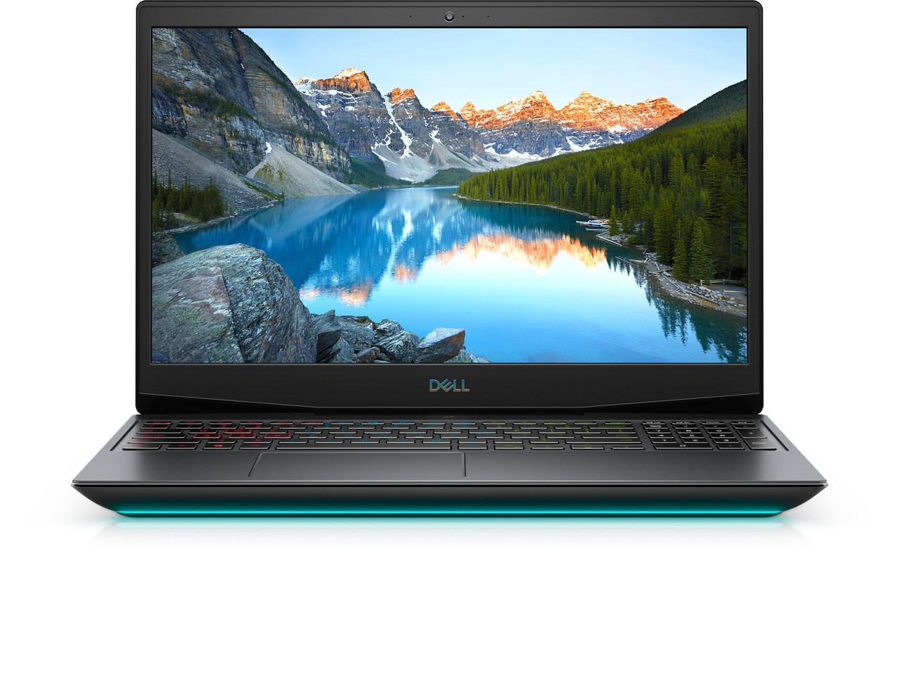 "Laptop Dell Inspiron Gaming 5500 G5, 15.6"" FHD, i5-10300H, 8GB, 512GB SSD, GeForce GTX 1650TI, Ubuntu - imaginea 1"