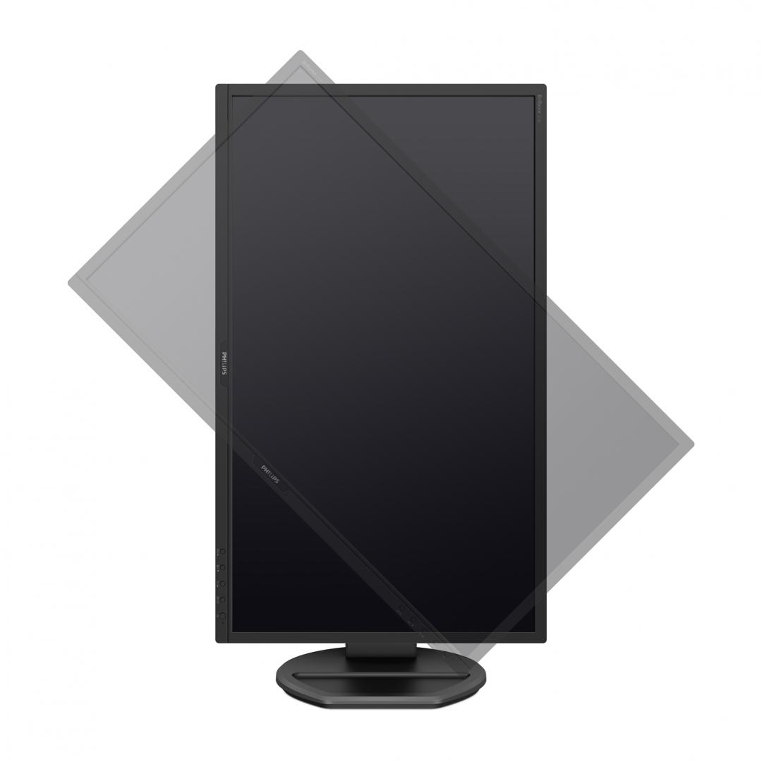 "Monitor 21.5"" PHILIPS 221B8LHEB, TN, 16:9, FHD 1920*1080, 60 Hz, 1 ms, low blue mode, flicker free, - imaginea 1"