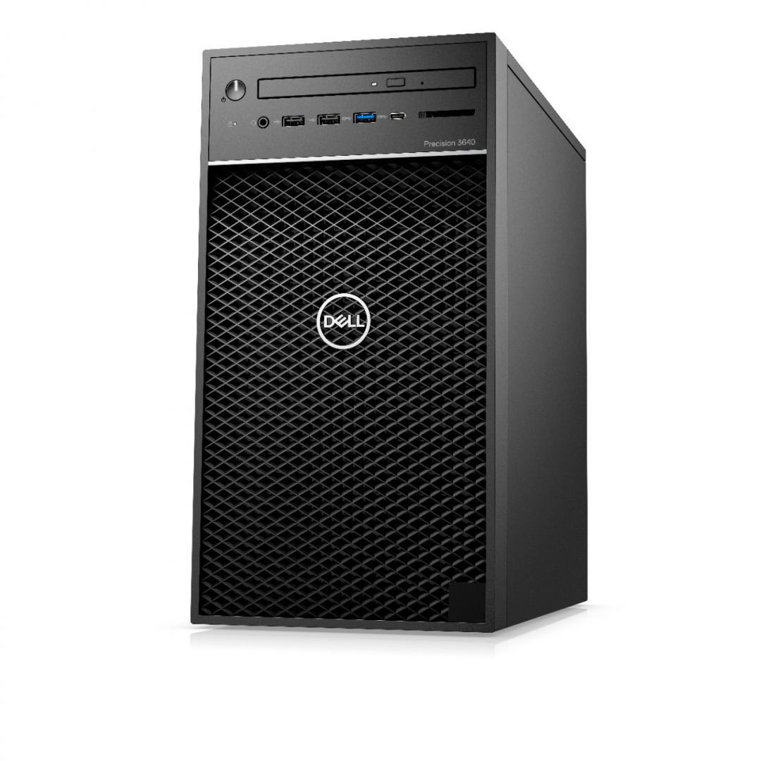 Dell Precision 3640 Tower, i9-10900K, 16GB, 256GB SSD, Nvidia Quadro RTX 4000, Ubuntu - imaginea 1