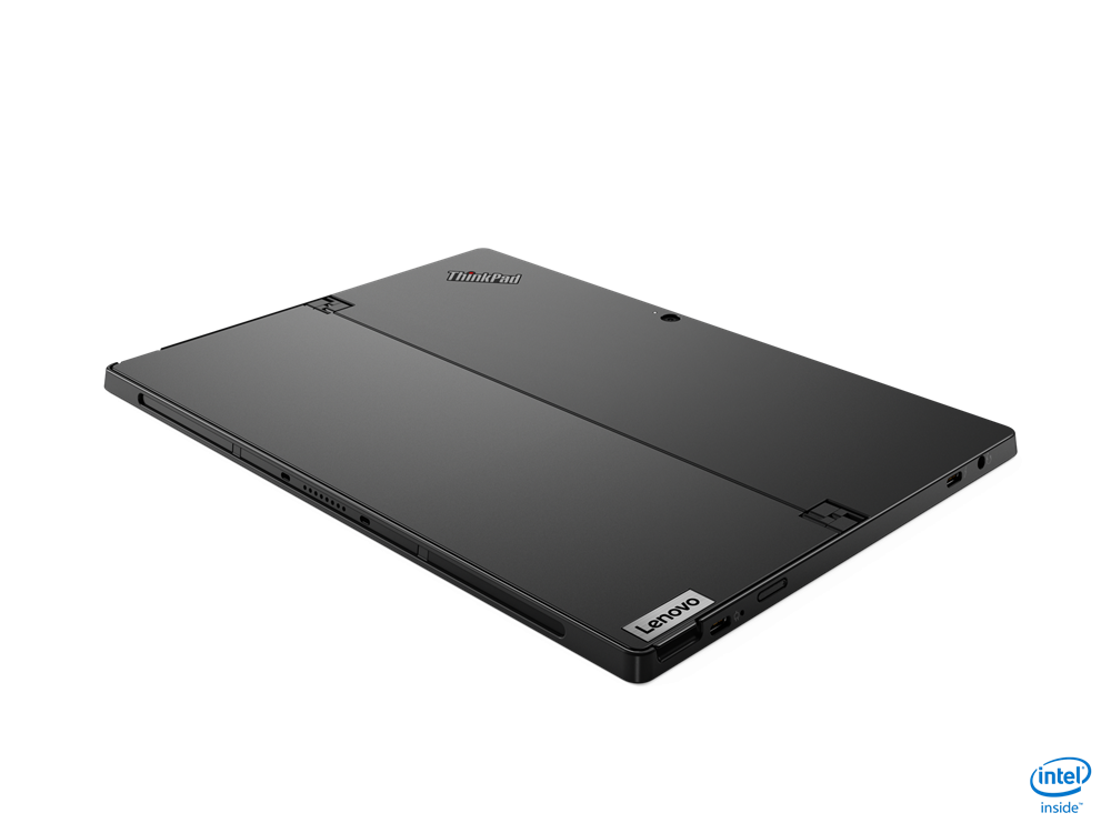 "Laptop Lenovo ThinkPad X12 Detachable, 12.3"" FHD (1920x1280) IPS 400nits AR (anti-reflection) / AS (anti-smudge), Intel Core i5-1130G7 (4C / 8T, 1.8 / 4.0GHz, 8MB), Video Integrated Intel Iris Xe Graphics, RAM 16GB Soldered LPDDR4x-4266, SSD 512GB SSD M.2 2242 PCIe 3.0x4 NVMe, Optical: no ODD, No - imaginea 15"