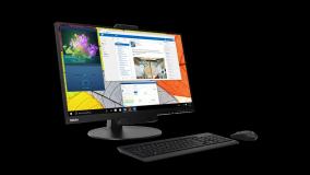 "Monitor Lenovo ThinkCentre Tiny-In-One 2727"" IPS, QHD (2560x1440) - imaginea 2"